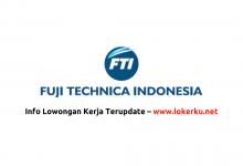 Photo of Lowongan Kerja Karawang PT Fuji Technica Indonesia