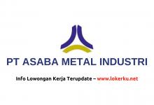 Photo of Lowongan Kerja Operator PT Asaba Metal Industri 2020