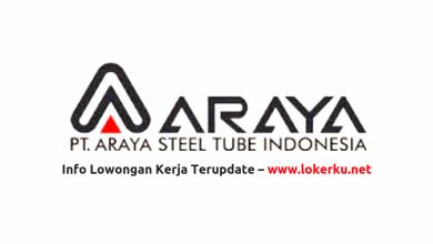 Photo of Lowongan Kerja PT Araya Steel Tube Indonesia 2020