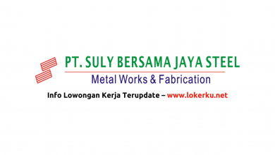 Photo of Lowongan Kerja PT Suly Bersama Jaya Steel 2020