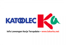 Photo of Lowongan Kerja Staff PT Katolec Indonesia 2020