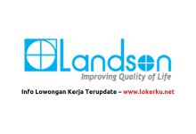 Photo of Lowongan Kerja Landson PT Pertiwi Agung Oktober 2020
