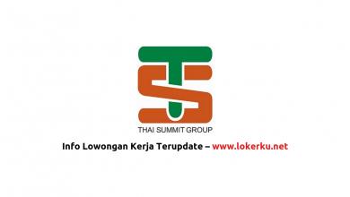 Photo of Lowongan Kerja PT Asteer Thai Summit 2020