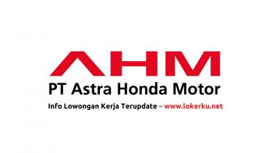 Photo of Lowongan Kerja PT Astra Honda Motor (AHM) 2020