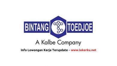 Photo of Lowongan Kerja PT Bintang Toedjoe 2020