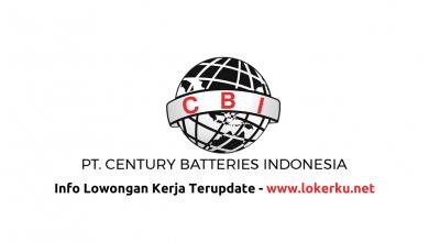 Photo of Lowongan Kerja PT Century Batteries Indonesia 2020