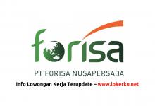 Photo of Lowongan Kerja PT Forisa Nusapersada 2020