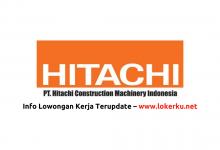 Photo of Lowongan Kerja PT Hitachi Construction Machinery Indonesia Juni 2020