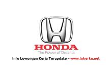 Photo of Lowongan Kerja Staff PT Honda Prospect Motor 2020