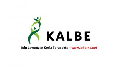 Photo of Lowongan Kerja PT Kalbe Farma Tbk Agustus 2020