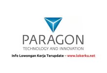 Photo of Lowongan Kerja PT Paragon Technology and Innovation Tangerang Oktober 2020