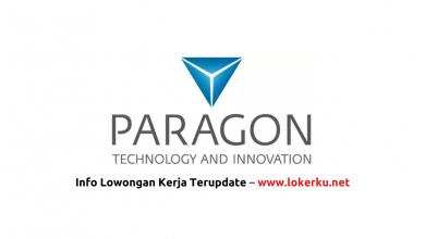 Photo of Lowongan Kerja PT Paragon Technology and Innovation Tangerang 2020