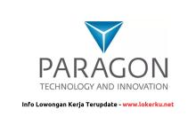 Photo of Lowongan Kerja PT Paragon Technology and Innovation Bekasi 2020