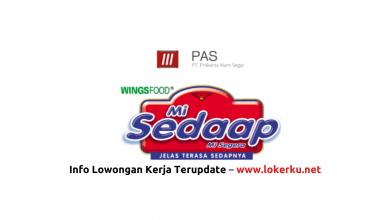 Photo of Lowongan Kerja PT Prakarsa Alam Segar Juni 2020