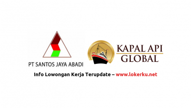 Photo of Lowongan Kerja PT Santos Jaya Abadi (Kapal Api) 2020