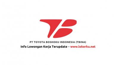 Photo of Lowongan Kerja PT Toyota Boshoku Indonesia (TBINA) 2020