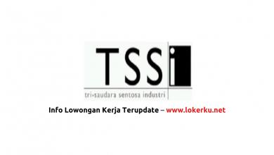 Photo of Lowongan Kerja PT Tri Saudara Sentosa Industri(PT TSSI) 2020