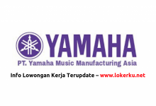 Photo of Lowongan Kerja PT Yamaha Music Manufacturing Asia 2020
