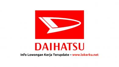 Photo of Lowongan Kerja PT Astra Daihatsu Motor (ADM) 2020