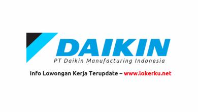 Photo of Lowongan Kerja PT Daikin Manufacturing Indonesia Agustus 2020
