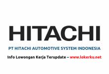 Photo of Lowongan Kerja PT Hitachi Automotive System Indonesia 2020