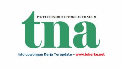 Photo of Lowongan Kerja PT Tuffindo Nittoku Autonem Karawang 2020