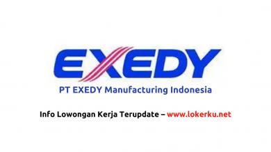 Photo of Lowongan Kerja PT EXEDY Manufacturing Indonesia 2020
