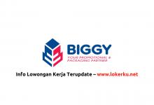 Photo of Lowongan Kerja PT Biggy Cemerlang 2020