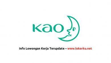 Photo of Lowongan Kerja Staff PT Kao Indonesia 2020