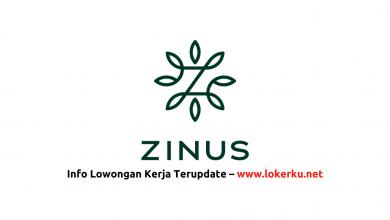 Photo of Lowongan Kerja PT Zinus Global Indonesia 2020