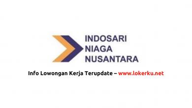 Photo of Lowongan Kerja PT Indosari Niaga Nusantara Agustus  2020