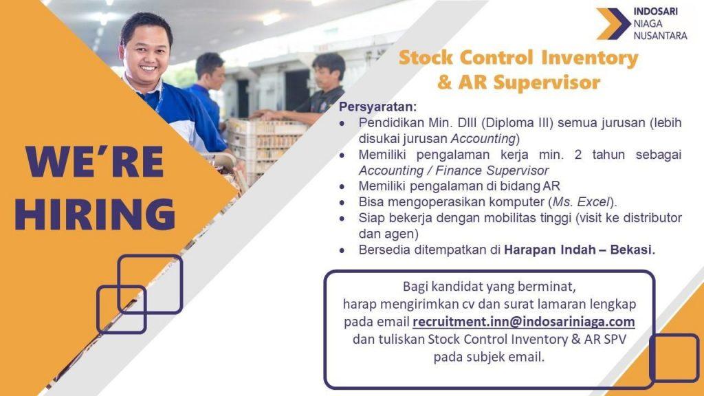 Lowongan Kerja PT Indosari Niaga Nusantara 2020