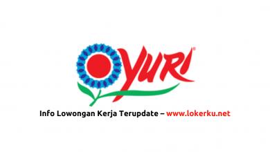 Photo of Lowongan Kerja PT Joenoes Ikamulya (YURI) Agustus 2020
